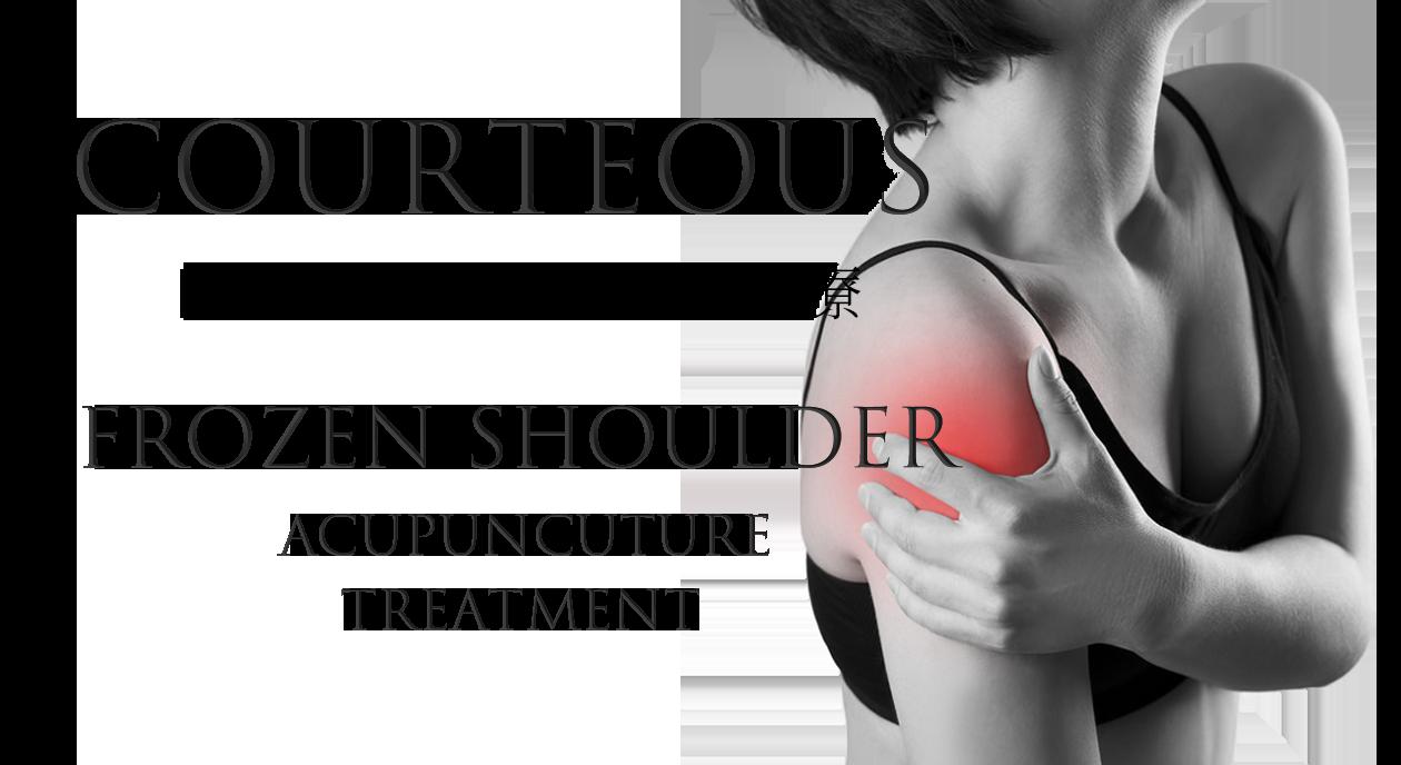 肩関節の痛み四十肩、五十肩の様子