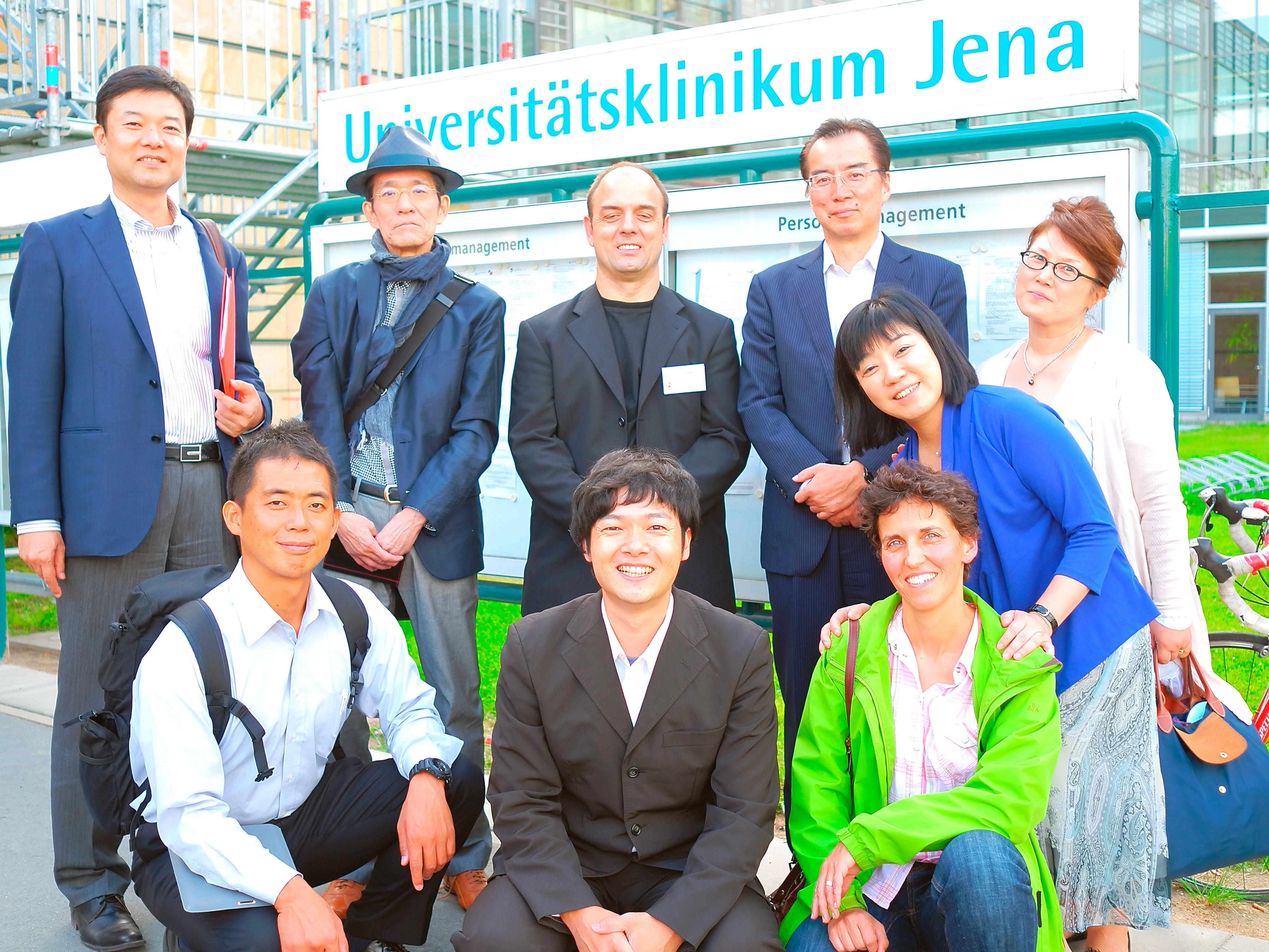 日本の鍼灸をドイツへ伝えるセミナーでの集合写真
